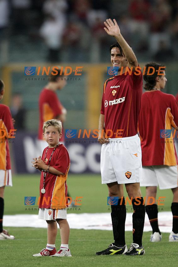 Roma 29/8/2004 Amichevole di presentazione AS Roma. Friendly match Roma - Iran 5-3. Christian Panucci Roma<br /> <br /> Foto Andrea Staccioli Insidefoto