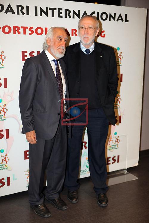 XIV Sopar Solidari de Nadal.<br /> Esport Solidari Internacional-ESI.<br /> Josep Maldonado & Jordi Folgado.