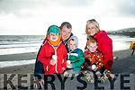 Celebration of Light in aid of recovery Haven on BALLYHEIGUE  beach on Monday were Matthew Dunton, Nathan Dunton, Ronan Dunton, David Dunton and Dianne Dunton