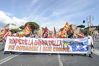 Roma, 17 Maggio 2014<br /> Manifestazione nazionale in difesa beni comuni, contro privatizzazioni e grandi opere.<br /> <br /> Rome, May 17, 2014 <br /> National demonstration in defense of common goods, against privatization and works great.