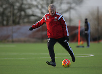 Pictured: Manager Alan Curtis Wednesday 23 December 2015<br />