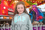 Kiera O'Sullivan enjoying the fun-fair at Sneem Family Festival