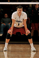 18 January 2008: Jesse Meredith during Stanford's 3-1 win over USC at Maples Pavilion in Stanford, CA.