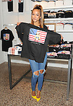 Karrueche Tran in Store at PacSun to celebrate the launch of her new limited edition V/Sual tee at Glendale Galleria Glendale, CA. May 3, 2014.