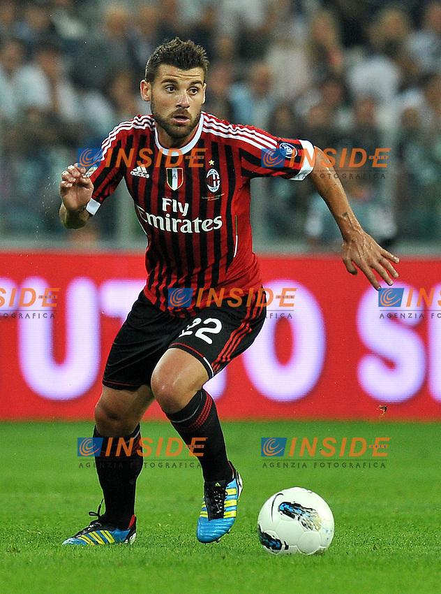 """Antonio NOCERINO (Milan).Torino 2/10/2011 Stadio """"Juventus Stadium"""".Serie A 2011/2012.Football Calcio JUventus Vs Milan.Foto Insidefoto Alessandro Sabattini."""