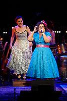 Los Angeles, CA - NOV 07:  La Mirasoul performs at 'Joni 75: A Birthday Celebration Live At The Dorothy Chandler Pavilion' on November 07 2018 in Los Angeles CA. Credit: CraSH/imageSPACE/MediaPunch