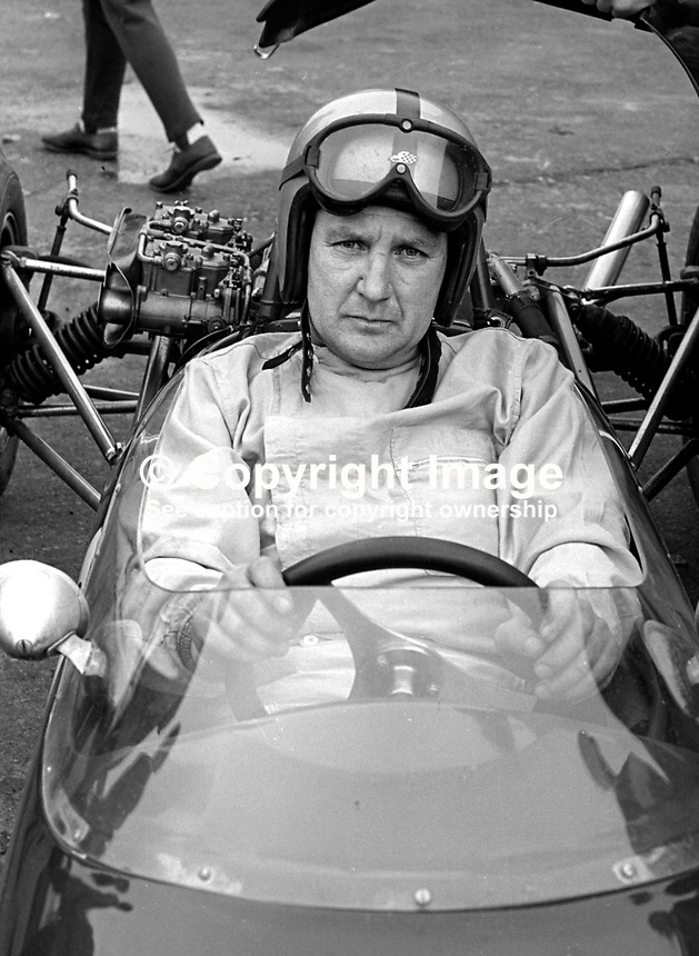 Malcolm Templeton, racing driver, N Ireland, September 1967, 196709000149a<br />