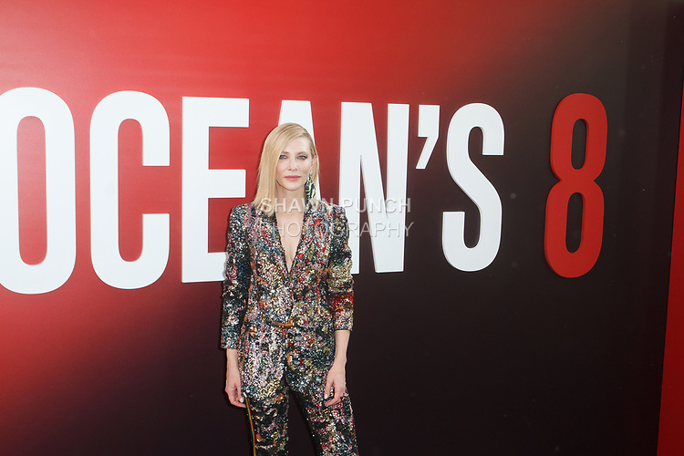 Cate Blanchett arrives at the World Premiere of Ocean's 8 at Alice Tully Hall in New York City, on June 5, 2018.