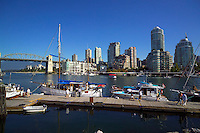 Vancouver, BC, Canada, August 2006. Yaletown seen from Granville Island. Squeezed in between the Rocky Mountains and the Pacific Ocean, Vancouver has a special feel. Photo by Frits Meyst/Adventure4ever.com
