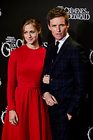 Eddie Redmayne and Hannah Bagshawe attends to Fantastic Beasts: The Crimes of Grindelwald film premiere during the Madrid Premiere Week at Kinepolis in Pozuelo de Alarcon, Spain. November 15, 2018. (ALTERPHOTOS/A. Perez Meca) /NortePhoto