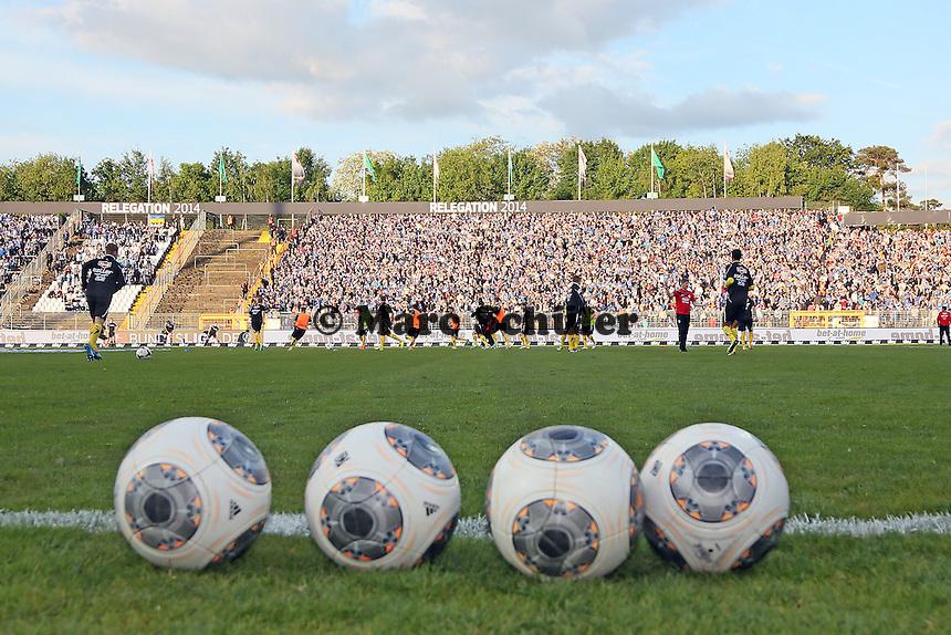 Arminia Bielefeld in der Relegation 2014 - SV Darmstadt 98 vs. Armina Bielefeld, Stadion am Böllenfalltor