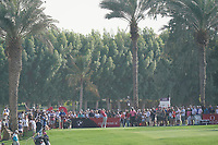 Lucas Herbert (AUS) on the 12th tee during the third round of the Omega Dubai Desert Classic, Emirates Golf Club, Dubai, UAE. 26/01/2019<br /> Picture: Golffile | Phil Inglis<br /> <br /> <br /> All photo usage must carry mandatory copyright credit (© Golffile | Phil Inglis)