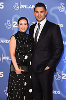 LONDON, UK. October 15, 2019: Rav Wilding & Jill Wilding at the National Lottery Awards 2019, London.<br /> Picture: Steve Vas/Featureflash