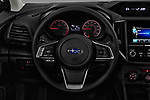 Car pictures of steering wheel view of a 2017 Subaru Impreza CVT 5 Door Hatchback Steering Wheel