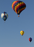 Hot Air Balloon Festival held at Coshocton County Fairgrounds in Coshocton Ohio on June 9, 2012.