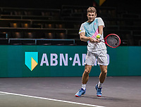 Rotterdam, The Netherlands, 9 Februari 2020, ABNAMRO World Tennis Tournament, Ahoy, Doubles: Wesley Koolhof (NED).<br /> Photo: www.tennisimages.com