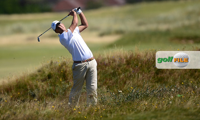 Gonzalo Leal of Spain during the Second Round of Qualifying for the Boys Amateur Championship at Southport &amp; Ainsdale Golf Club, Southport, England. Picture: Golffile   Richard Martin-Roberts<br /> All photo usage must carry mandatory copyright credit (&copy; Golffile   Richard Martin-Roberts)