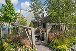 Mind Trap sponsored by id verde. Designed by: Ian Price. Sponsored by: id verde. RHS Chelsea Flower Show 2017. Stand no. Fresh Garden 82.