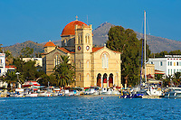 The Church of Panayitsa, Aegina Port , Greek Saronic Islands.