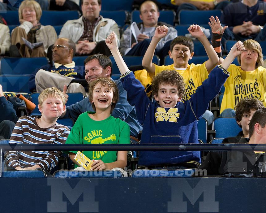 Michigan Madness at Crisler Arena on 10/16/09.