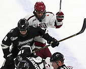 Brandon Duhaime (PC - 9), Tyler Moy (Harvard - 2) - The Harvard University Crimson defeated the Providence College Friars 3-0 in their NCAA East regional semi-final on Friday, March 24, 2017, at Dunkin' Donuts Center in Providence, Rhode Island.