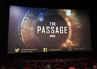 """LOS ANGELES - JANUARY 9: Advanced screening and Q&A of FOX's """"The Passage"""" at the AMC Century City 15 on January 9, 2019, in Los Angeles, California. (Photo by Frank Micelotta/Fox/PictureGroup)"""