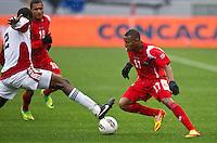CARSON, CA - March 25, 2012: Yairo Glaize of Panama during the Panama vs Trinidad & Tobago match at the Home Depot Center in Carson, California. Final score Panama 1, Trinidad & Tobago 1.