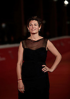 "La produttice italiana Ginevra Elkann posa sul red carpet per la presentazione del film ""Captain Fantastic"" al Festival Internazionale del Film di Roma, 17 ottobre 2016. <br /> Italian producer Ginevra Elkann poses on the red carpet to present the movie ""Captain Fantastic"" during the international Rome Film Festival at Rome's Auditorium, 17 October 2016.<br /> UPDATE IMAGES PRESS/Isabella Bonotto"