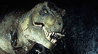 Jurassic Park (1993)<br /> Tyrannosaurus rex<br /> *Filmstill - Editorial Use Only*<br /> CAP/KFS<br /> Image supplied by Capital Pictures