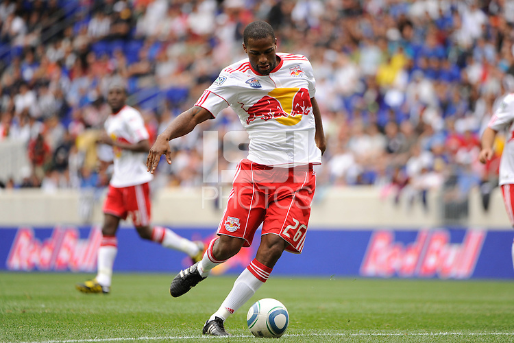 Clebao (26) of the New York Red Bulls. The New York Red Bulls defeated Juventus F. C. 3-1 during a friendly at Red Bull Arena in Harrison, NJ, on May 23, 2010.