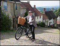 'Hovis boy' finally conquers that hill.