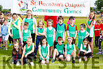 St Brendans Oakpark athletes who participated  at the Kerry County Community Games finals in Castleisland on Saturday