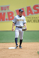 Trenton Thunder infielder Rob Refsnyder (24) during game against the New Britain Rock Cats at New Britain Stadium on May 7 2014 in New Britain, CT.  Trenton defeated New Britain 6-4.  (Tomasso DeRosa/Four Seam Images)