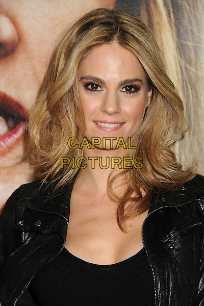 """Kelly Kruger.HBO's """"Enlightened"""" Los Angeles Premiere held at Paramount Studios, Los Angeles, California, USA. .October 6th, 2011.headshot portrait black leather .CAP/ADM/BP.©Byron Purvis/AdMedia/Capital Pictures."""