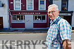 Local historian Padraig O'Concubhair standing outside of the Rahilly's home place in Ballylongford on Tuesday.