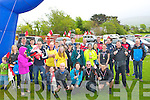 WALK: Some of the many of the 2075 who completed the t Pats GAA Club Dingle Way Challenge on Sunday.