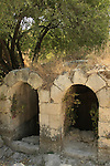 Israel, Shephelah, a Roman structure in Park Canada