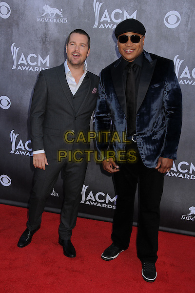 06 April 2014 - Las Vegas, Nevada - Chris O'Donnell, LL Cool J. 49th Annual Academy of Country Music Awards - Arrivals held at the MGM Grand Hotel.  <br /> CAP/ADM/BP<br /> &copy;Byron Purvis/AdMedia/Capital Pictures