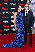 ANAHEIM, CA - JUNE 22: Kymberly Kalil and William Fichtner attend The World Premiere of Disney/Jerry Bruckheimer Films' 'The Lone Ranger' at Disney California Adventure Park on June 22, 2013 in Anaheim, California. (Photo by Celebrity Monitor)