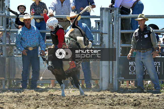2015 Richmond Rodeo, Saturday 24 January 2015, Richmond Show Grounds, New Zealand, Photos: Barry Whitnall/shuttersport
