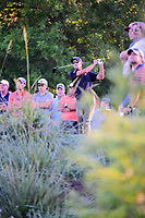 Adam Scott (AUS) watches his tee shot 10 during round 2 of the Shell Houston Open, Golf Club of Houston, Houston, Texas, USA. 3/31/2017.<br /> Picture: Golffile | Ken Murray<br /> <br /> <br /> All photo usage must carry mandatory copyright credit (&copy; Golffile | Ken Murray)