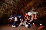 14 aprile 2015 - I ragazzi del CUS Ad Maiora rugby ripresi presso il Salone d'Onore del Castello del Valentino, Torino