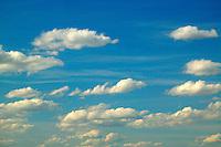 Clouds over farmland near Ritzville, Eastern Washington