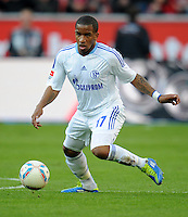 FUSSBALL   1. BUNDESLIGA   SAISON 2011/2012    10. SPIELTAG Bayer 04 Leverkusen - FC Schalke 04                        23.10.2011 Jefferson FARFAN (FC Schalke 04) Einzelaktion am Ball