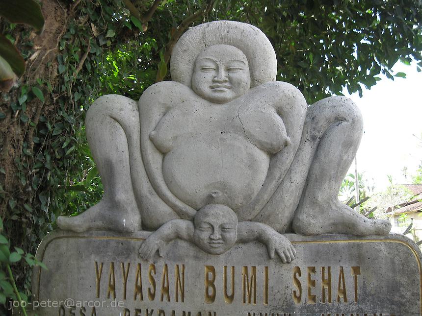 Birth Hopsital (social project) Yayasan Bumi sehat, Bali, archipelago Indonesia
