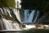 Middle Falls, Lewis River, Gifford Pinchot National Forest, Washington, US