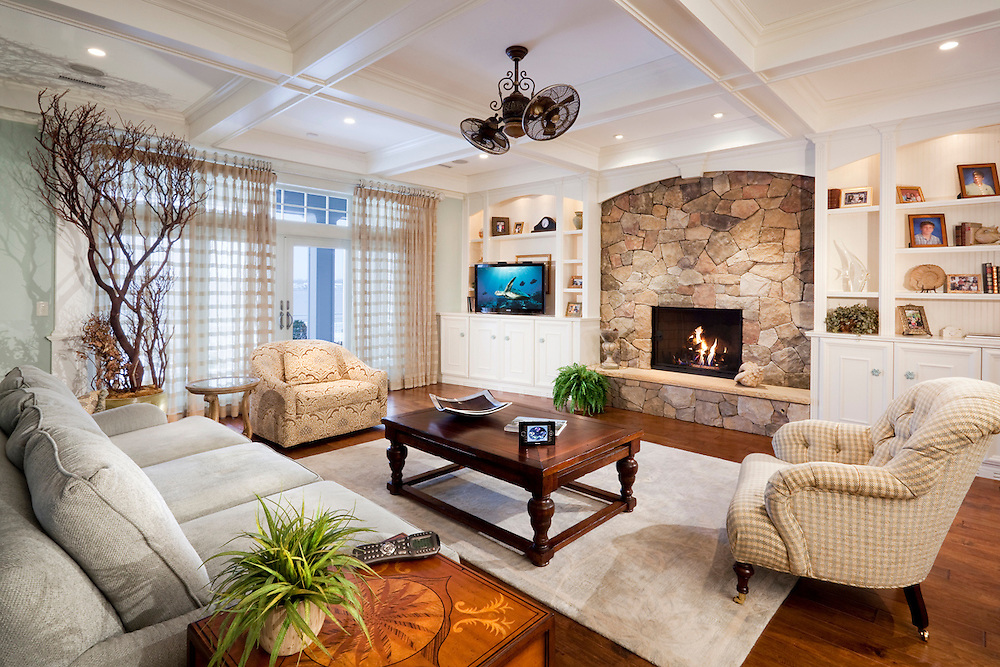 Family Room with Home Automation