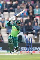 Quinton de Kock  (South Africa) drives into the covers during South Africa vs West Indies, ICC World Cup Cricket at the Hampshire Bowl on 10th June 2019