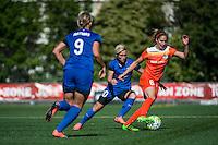 Seattle, Washington - Sunday, June 12, 2016: Houston Dash midfielder Morgan Brian (6) during a regular season National Women's Soccer League (NWSL) match at Memorial Stadium. Seattle won 1-0.