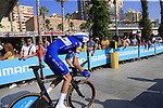 Laurens De Plus (BEL) Quick-Step Floors during Stage 1 of the La Vuelta 2018, an individual time trial of 8km running around Malaga city centre, Spain. 25th August 2018.<br /> Picture: Ann Clarke | Cyclefile<br /> <br /> <br /> All photos usage must carry mandatory copyright credit (© Cyclefile | Ann Clarke)
